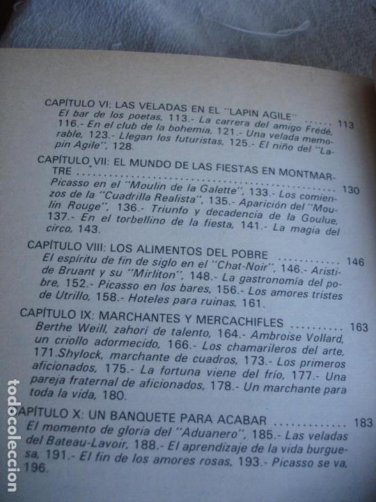 Libros de segunda mano: La vida cotidiana en el Montmartre de Picasso - Foto 5 - 82036808