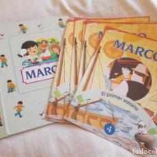 Libros de segunda mano: MARCO 8 FASCÍCULOS RBA Y TAPAS. Lote 82110096