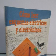 Libros de segunda mano: COMO LEER ESQUEMAS ELECTRICOS Y ELECTRONICOS. D.E. HERRINGTON. PARANINFO 1989. VER FOTOGRAFIAS. Lote 82124244