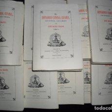 Libros de segunda mano: REFRANERO GENERAL ESPAÑOL, JOSÉ MARÍA SBARBI, EDICIÓN FACSÍMIL, 10 TOMOS, ED. ATLAS, 1980. Lote 82154816