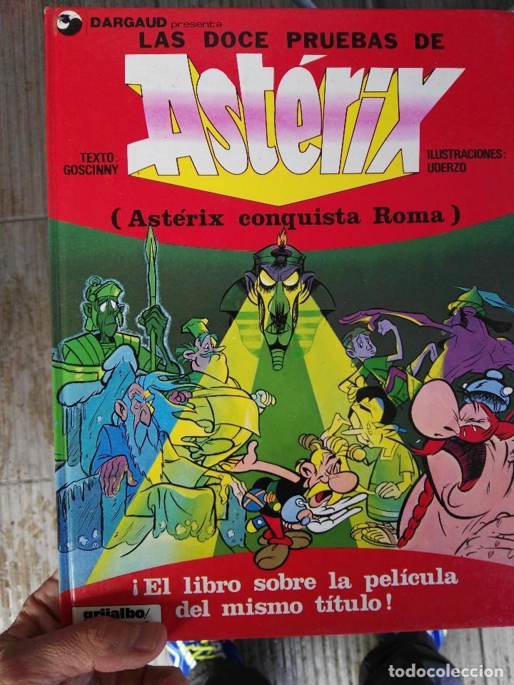 Libro  Las Doce Pruebas De Asterix Conquista Ro