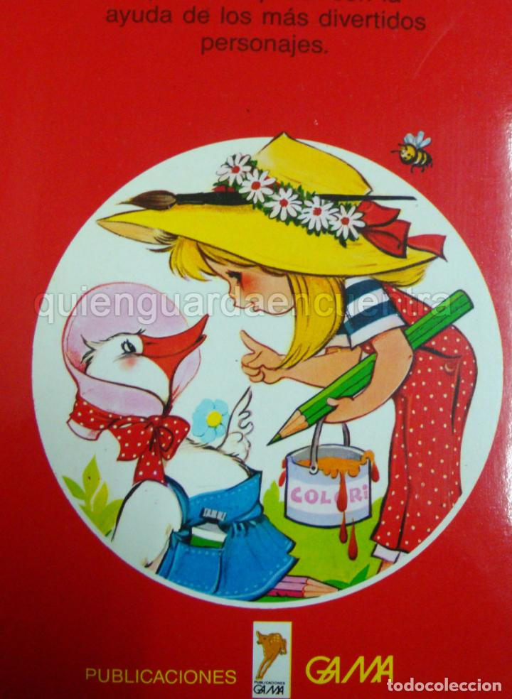 Libros de segunda mano: Gran color María Pascual Gama 1985 dibujos para colorear nuevo - Foto 2 - 81056684