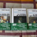 Libros de segunda mano: CRONICAS DE THOMAS COVENANT EL INCREDULO - STEPHEN R DONALDSON - TAPA DURA, ESTUCHE - NUEVOS. Lote 151111621