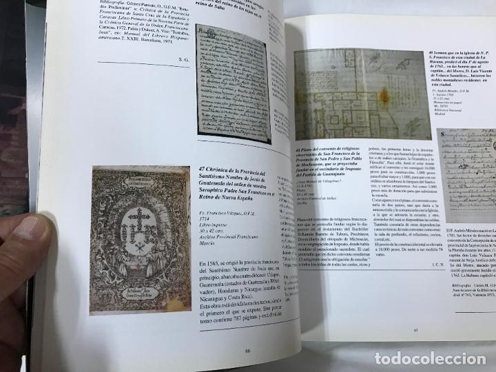 Libros de segunda mano: LOS FRANCISCANOS Y EL NUEVO MUNDO - CATÁLOGO DEL MONASTERIO DE STA. Mª DE LA RÁBIDA - AÑO 92 - Foto 9 - 82410932