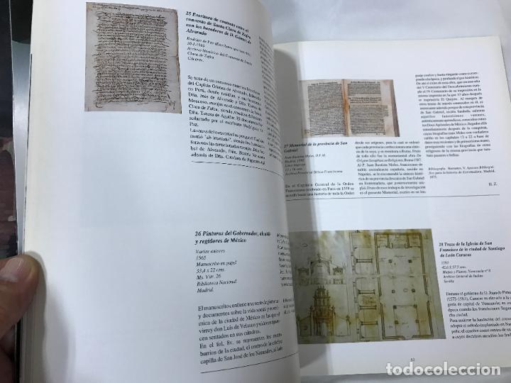 Libros de segunda mano: LOS FRANCISCANOS Y EL NUEVO MUNDO - CATÁLOGO DEL MONASTERIO DE STA. Mª DE LA RÁBIDA - AÑO 92 - Foto 10 - 82410932