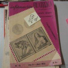 Libros de segunda mano: INFORMACION FILATELICA COLECCIONISMO AÑO II NUM 1219636 €. Lote 82421936