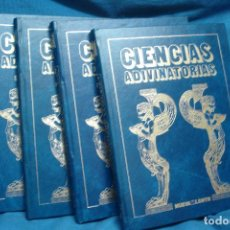 Libros de segunda mano: CIENCIAS ADIVINATORIAS - EDITORIAL NUEVA LENTE 1983 - 4 TOMOS. Lote 82452004