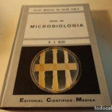 Libros de segunda mano: ATLAS DE MICROBIOLOGIA R. J. OLDS. Lote 141147389
