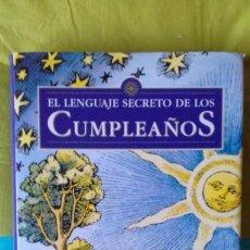 Libros de segunda mano: EL LENGUAJE SECRETO DE LOS CUMPLEAÑOS. GARY GOLDSCHNEIDER JOOST ELFFERS. DESTINO 2004 4º EDI. RARO. Lote 82482052