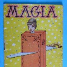 Libros de segunda mano: MAGIA. COLECCIÓN FANTASÍAS, NÚM 3. EDITORIAL ALAS, 1960.. Lote 82554676