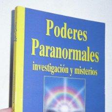 Libros de segunda mano: PODERES PARANORMALES, INVESTIGACIÓN Y MISTERIOS (BIBLIOTECA DE AÑO CERO Nº 3). Lote 82750700