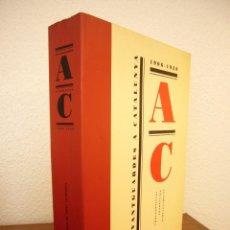 Libros de segunda mano: CATÀLEG EXPOSICIÓ AVANTGUARDES A CATALUNYA 1906-1939 (FUND. CAIXA CATALUNYA, LA PEDRERA, 1992). Lote 130706713