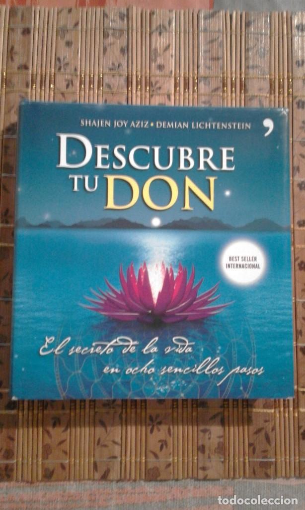 DESCUBRE TU DON - SHAJEN JOY AZIZ / DEMIAN LICHTENSTEIN (Libros de Segunda Mano - Pensamiento - Otros)