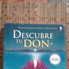 Libros de segunda mano: DESCUBRE TU DON - SHAJEN JOY AZIZ / DEMIAN LICHTENSTEIN. Lote 82806388