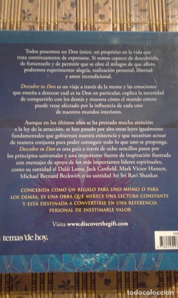 Libros de segunda mano: Descubre tu don - Shajen Joy Aziz / Demian Lichtenstein - Foto 3 - 82806388