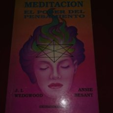Libros de segunda mano: MEDITACION EL PODER DEL PENSAMIENTO. Lote 82903852