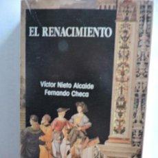 Libros de segunda mano: EL RENACIMIENTO. NIETO ALCAIDE, V. CHECA CREMADES, F. ED. ISTMO. COL. FUNDAMENTOS, 69. . Lote 82914188