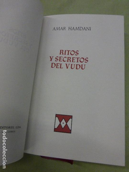 Libros de segunda mano: Ritos y secretos del Vudú - Hamdani, Amar - Foto 3 - 83105948