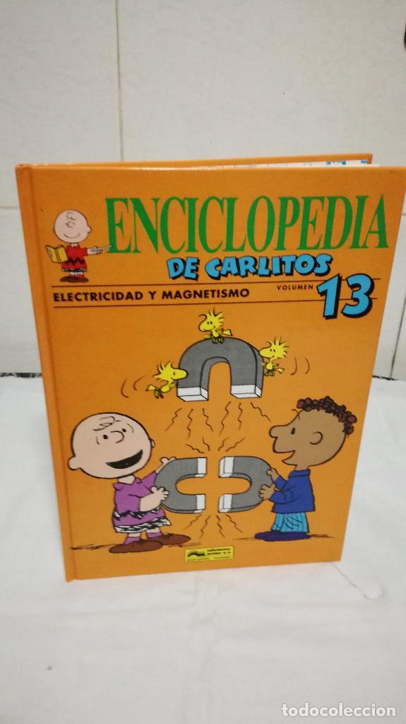 64-ENCICLOPEDIA DE CARLITOS, VOLUMEN 13 (Libros de Segunda Mano - Literatura Infantil y Juvenil - Otros)