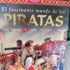 Libros de segunda mano: LIBRO. TAPA DURA PIRATAS. Lote 82165552