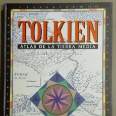 Atlas de la Tierra Media. Tolkien. Karen Wynn Fonstad. Timun Mas. 1993. 1ª edición! Rareza!!