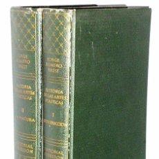 Libros de segunda mano: HISTORIA DE LAS ARTES PLÁSTICAS ( 2 TOMOS). Lote 83457620
