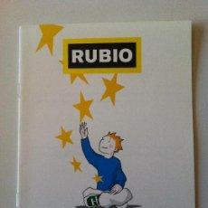 Libros de segunda mano: CUADERNO RUBIO PROBLEMAS CON EUROS RUBIO 3E. Lote 83459356