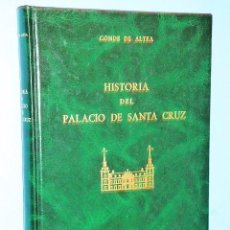 Libros de segunda mano: HISTORIA DEL PALACIO DE SANTA CRUZ (1629-1983). Lote 83582348