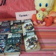 Libros de segunda mano: LOTE DE 6 LIBROS VARIADOS Nº18. Lote 83617656