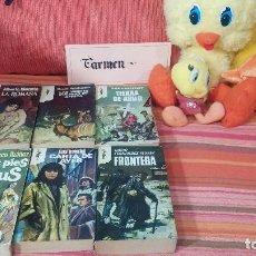 Libros de segunda mano: LOTE DE 6 LIBROS VARIADOS Nº21. Lote 83617860