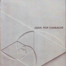 Libros de segunda mano: ROF CARBALLO, JUAN : SIGNOS EN EL HORIZONTE . Lote 83667120