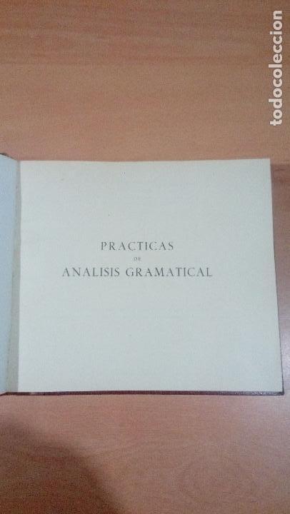 Libros de segunda mano: practicas de analisis gramatical - casellas casademont 1957 gerona - ver fotos - Foto 5 - 83701900