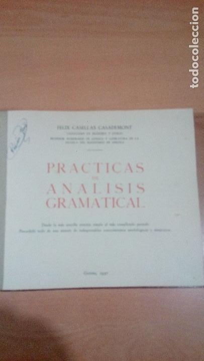 Libros de segunda mano: practicas de analisis gramatical - casellas casademont 1957 gerona - ver fotos - Foto 6 - 83701900