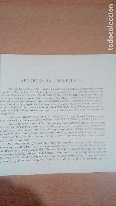 Libros de segunda mano: practicas de analisis gramatical - casellas casademont 1957 gerona - ver fotos - Foto 9 - 83701900