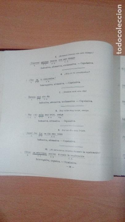 Libros de segunda mano: practicas de analisis gramatical - casellas casademont 1957 gerona - ver fotos - Foto 11 - 83701900
