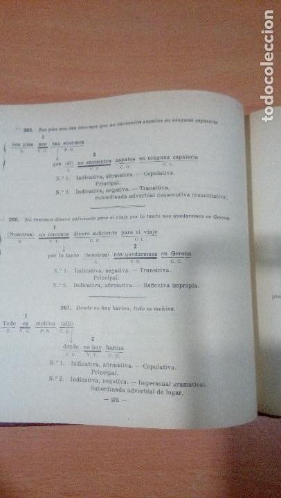 Libros de segunda mano: practicas de analisis gramatical - casellas casademont 1957 gerona - ver fotos - Foto 13 - 83701900
