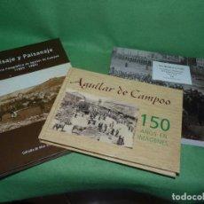 Libros de segunda mano: GRAN LOTE LIBROS AGUILAR DE CAMPOO PALENCIA PAISAJE Y PAISANAJE FOTOGRÁFÍA ANTIGUA XIX XX. Lote 83752984