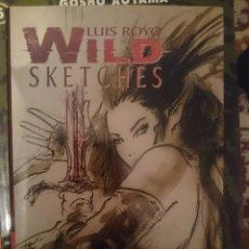 Libros de segunda mano: LUIS ROYO - WILD SKETCHES ---REFM3E2. Lote 145748645