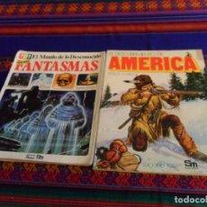 Libros de segunda mano: EL DESCUBRIMIENTO DE AMÉRICA. PLESA 1976. REGALO TODO SOBRE FANTASMAS, EL MUNDO DE LO DESCONOCIDO.. Lote 83824124