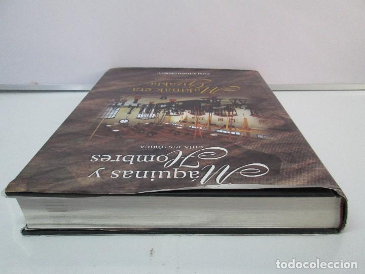 Libros de segunda mano: MAQUINAS Y HOMBRES. GUIA HISTORICA. MAKINAK ETA GIZAKIA. PATXI ALDABALDETRECU. 2000. VER FOTOS - Foto 5 - 83909732
