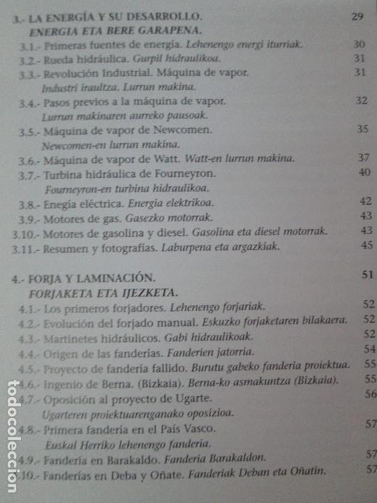 Libros de segunda mano: MAQUINAS Y HOMBRES. GUIA HISTORICA. MAKINAK ETA GIZAKIA. PATXI ALDABALDETRECU. 2000. VER FOTOS - Foto 10 - 83909732