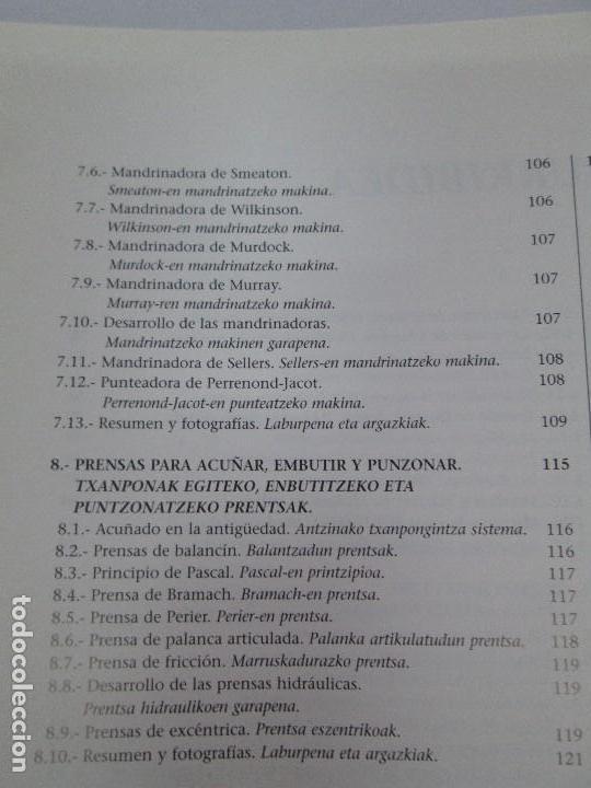 Libros de segunda mano: MAQUINAS Y HOMBRES. GUIA HISTORICA. MAKINAK ETA GIZAKIA. PATXI ALDABALDETRECU. 2000. VER FOTOS - Foto 13 - 83909732