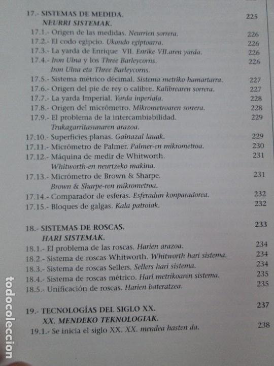 Libros de segunda mano: MAQUINAS Y HOMBRES. GUIA HISTORICA. MAKINAK ETA GIZAKIA. PATXI ALDABALDETRECU. 2000. VER FOTOS - Foto 18 - 83909732
