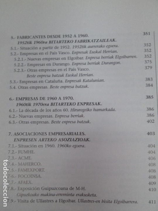Libros de segunda mano: MAQUINAS Y HOMBRES. GUIA HISTORICA. MAKINAK ETA GIZAKIA. PATXI ALDABALDETRECU. 2000. VER FOTOS - Foto 21 - 83909732