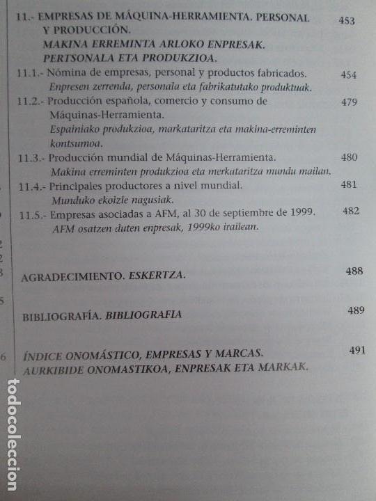Libros de segunda mano: MAQUINAS Y HOMBRES. GUIA HISTORICA. MAKINAK ETA GIZAKIA. PATXI ALDABALDETRECU. 2000. VER FOTOS - Foto 24 - 83909732