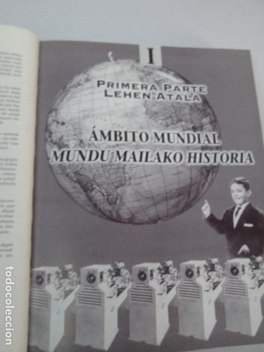 Libros de segunda mano: MAQUINAS Y HOMBRES. GUIA HISTORICA. MAKINAK ETA GIZAKIA. PATXI ALDABALDETRECU. 2000. VER FOTOS - Foto 25 - 83909732