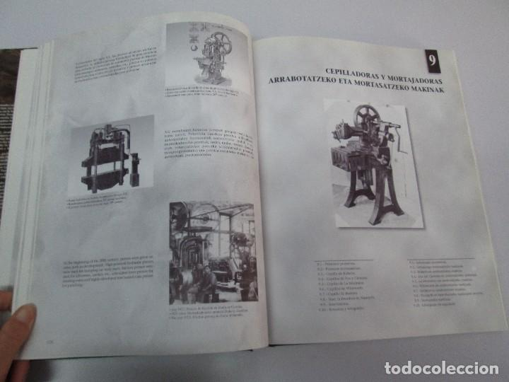 Libros de segunda mano: MAQUINAS Y HOMBRES. GUIA HISTORICA. MAKINAK ETA GIZAKIA. PATXI ALDABALDETRECU. 2000. VER FOTOS - Foto 29 - 83909732