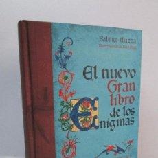 Libros de segunda mano: EL NUEVO GRAN LIBRO DE LOS ENIGMAS. ROMPECABEZAS Y JUEGOS DE LOGICA. FABRICE MAZZA. 2009.. Lote 83914048