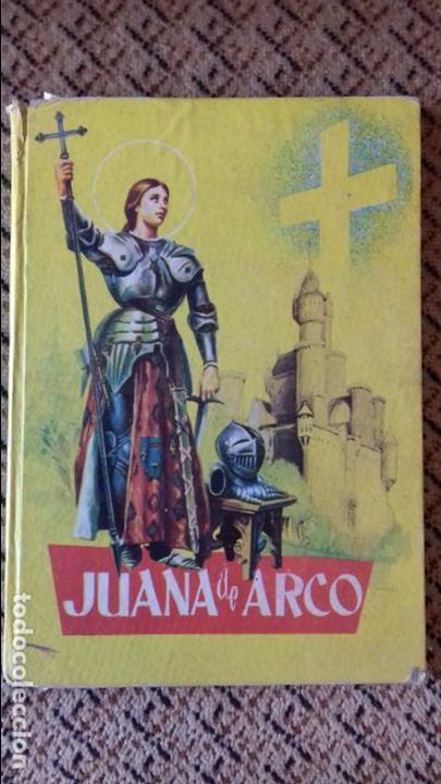 JUANA DE ARCO. LUISA M PARICIO. COLECCION JUVENIL FERMA. 1959 (Libros de Segunda Mano - Literatura Infantil y Juvenil - Otros)