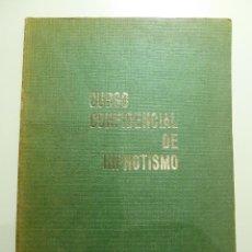 Libros de segunda mano: CURSO CONFIDENCIAL DE HIPNOTISMO. Lote 84042104